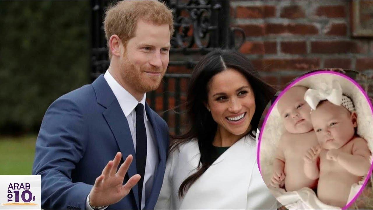 #مشاهير : تقرير جديد: أكدت الملكة أن هاري وميغان حامل  بتوأمان بعد أسبوعين من الزواج..!!