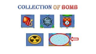 fishdom part collection of bombs