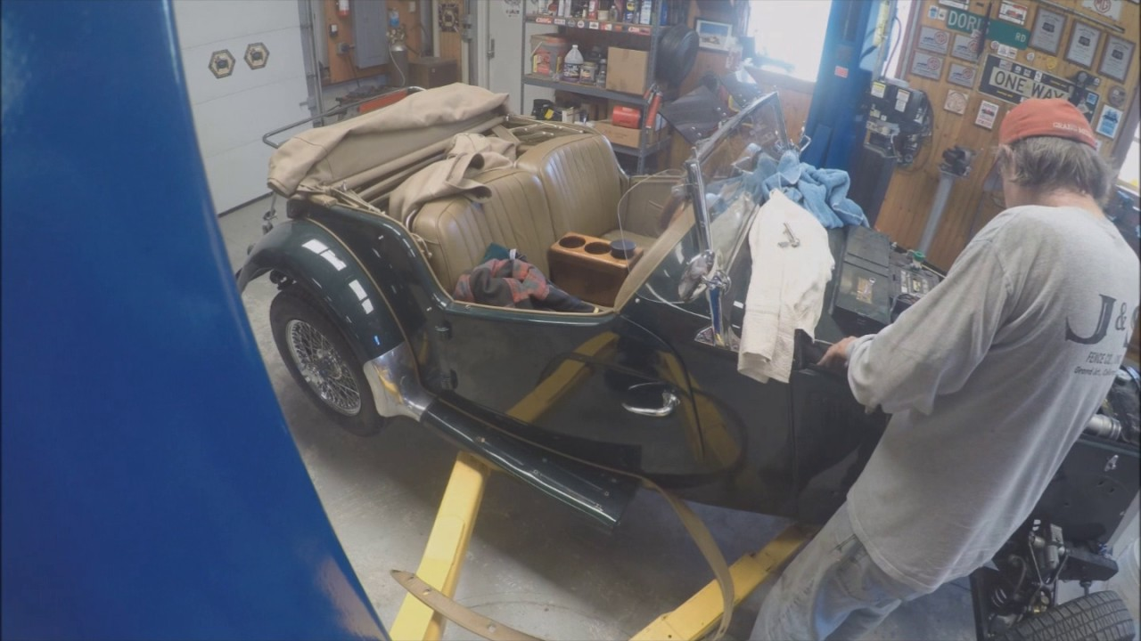 Mg Tf Engine Rebuild Part 1