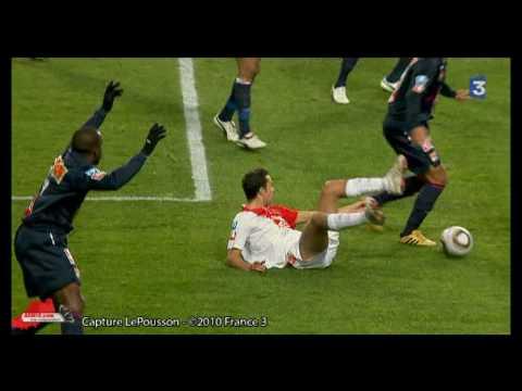 [2009/2010] 2010/1/24 CDF AS Monaco 2-1 Lyon Nene goal