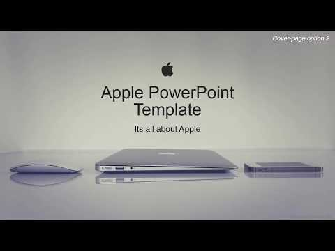 Apple Corporate Powerpoint Template As Envisioned By Our