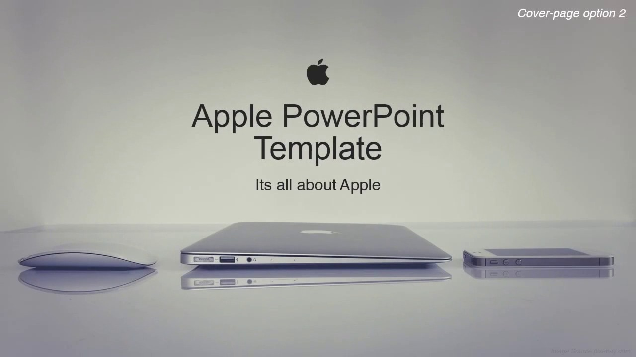 Apple Corporate Powerpoint Template As Envisioned By Our Designers
