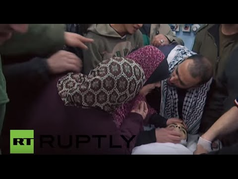 State of Palestine: Mourners shed tears for teen shot dead by IDF