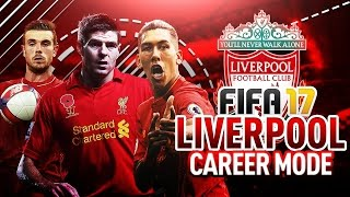 FIFA 17 Liverpool Career Mode: GERRARD LEGENDARY FREE-KICK & THUNDERSTRIKE - CAPTAIN FANTASTIC! Ep10