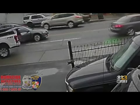 Video Captures Gunman In Killing Of Baltimore Business Owner