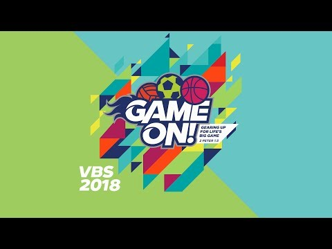 Game On - Vacation Bible School 2018 Promo