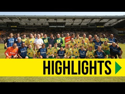 HIGHLIGHTS: Norwich City Legends 1-2 Inter Forever