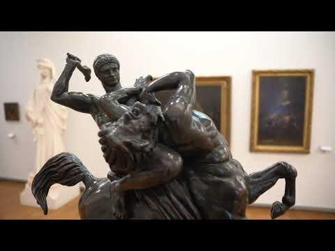 Hors d'oeuvre - Thésée combattant le centaure Biénor