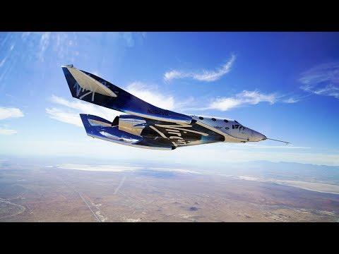 VSS Unity second successful supersonic, rocket-powered flight (4K)
