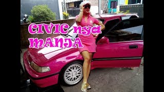 Tampil MANJA, Grand Civic Warna Pink