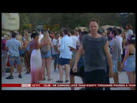 SXM Festival on the BBC News Channel