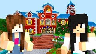 Minecraft Mapas - ESCOLA NA FAZENDA COLORIDA