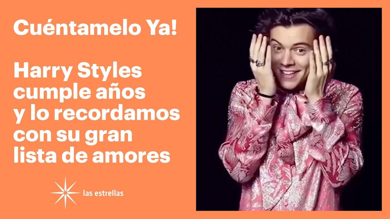 Cuéntamelo Ya!: Harry Styles cumple años y lo recordamos con su gran lista de amores