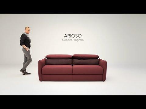 Arioso Natuzzi Italia Sofa Bed Youtube