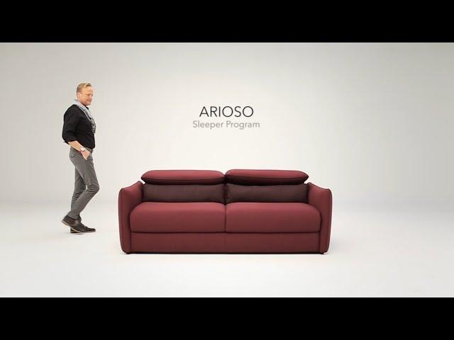 Arioso Natuzzi Italia Sofa Bed You