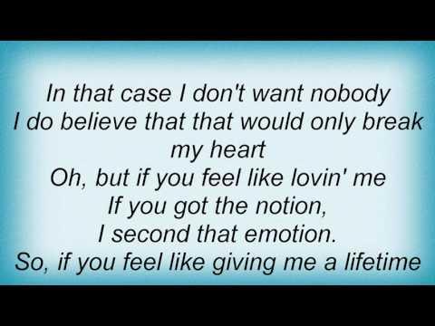 Smokey Robinson - I Second That Emotion Lyrics