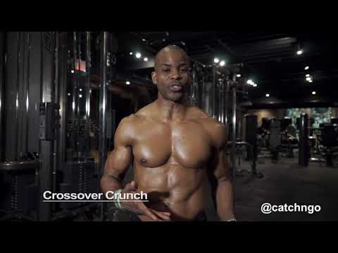 How To Crossover Crunch For Abs