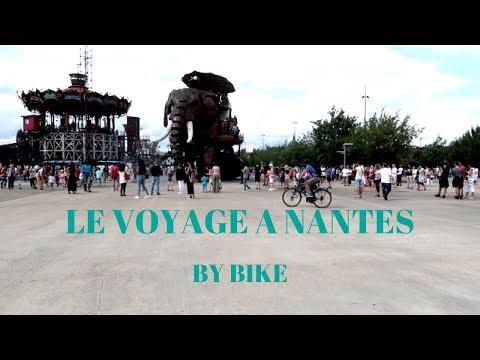Le Voyage à Nantes en vélo 2017