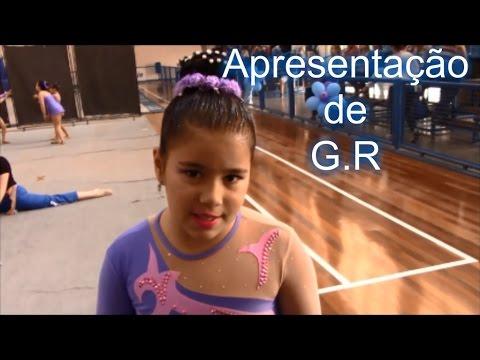 a19fe31c4 Minha Apresentação de Ginástica Rítmica - Clube Esperia- Rebeca ...