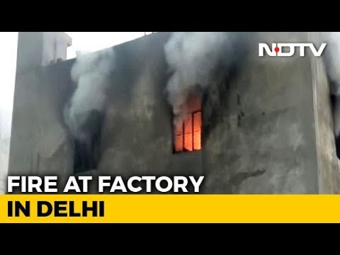 17 Killed In Fire At Building In North Delhi; Some Jumped From Terrace