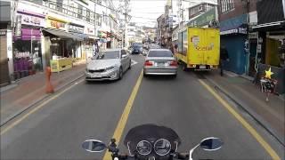 Seoul Motorbike Seoul Back Streets