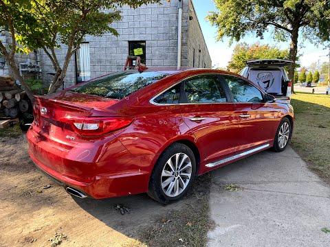 Hyundai Sonata - практически целая за 6200$. Как вам подарок? Авто из США 🇺🇸.