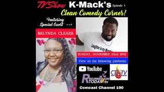 KMack's Clean Comedy Corner w. Chris Clark S1E1 Air Date 11.22.20
