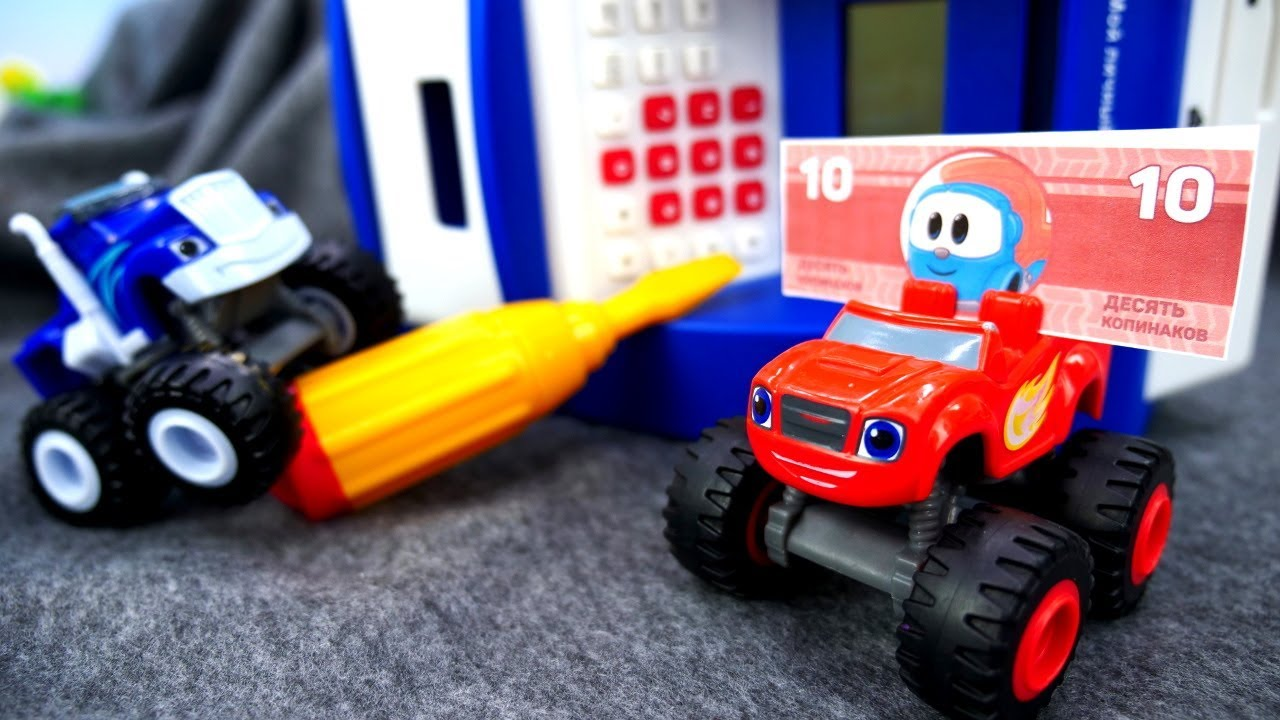 Вспыш и чудо-машинки. Видео для детей: классные игры для ...