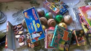 Pre diwali vlog 2017: dhanteras & crackers shopping/ DIWALI CRACKERS 2017 WORTH Rs2500/-