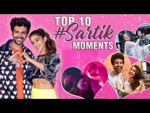 10 BEST Sara Ali Khan And Kartik Aaryan Romantic Moments | Valentines Day | Love Aaj Kal