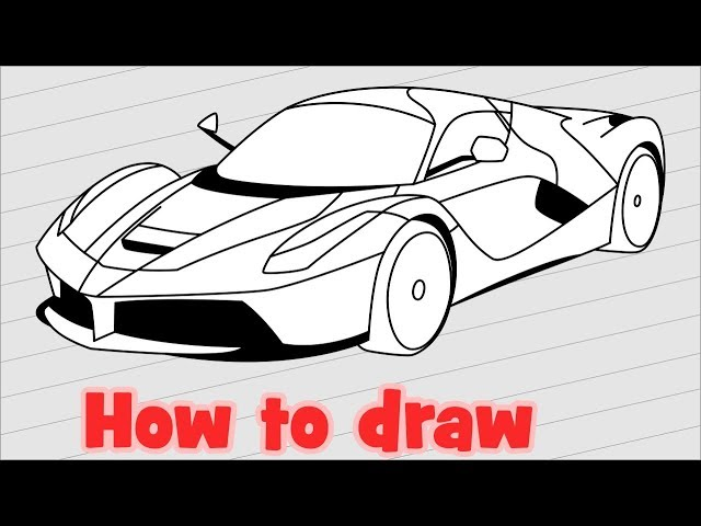 Ferrari Coloring Pages - Coloring Home   480x640