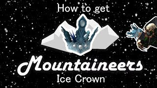 Roblox Holiday Event Mountaineers (Walkthrough) - How to get the Ice Crown EASY and FAST