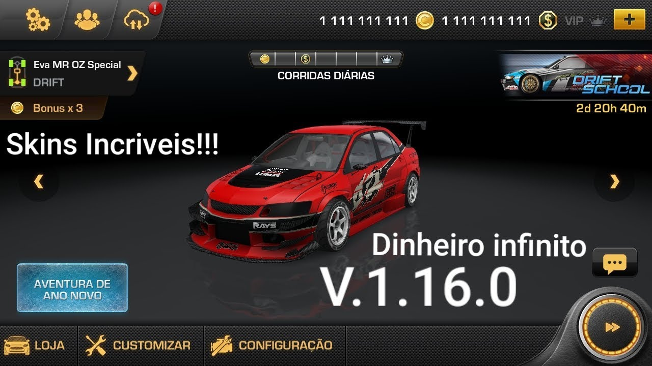 Como Colocar Skins Incriveis No Carx Drift Racing Mod V1 16 0