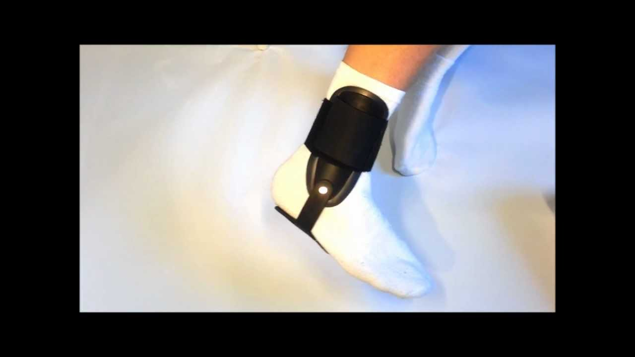 Бандаж на голеностопный сустав (аэропрен) ORTO NAN-309 - YouTube