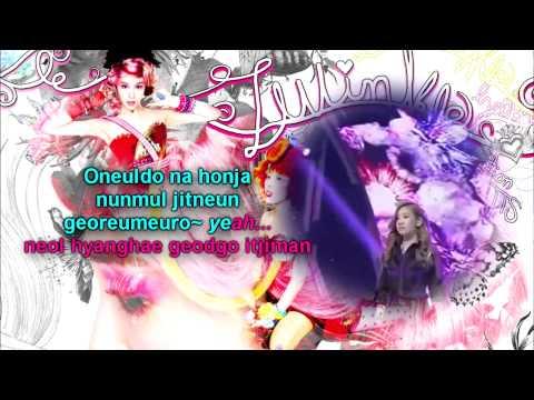 Girls' Generation TTS |Baby Steps| Karaoke