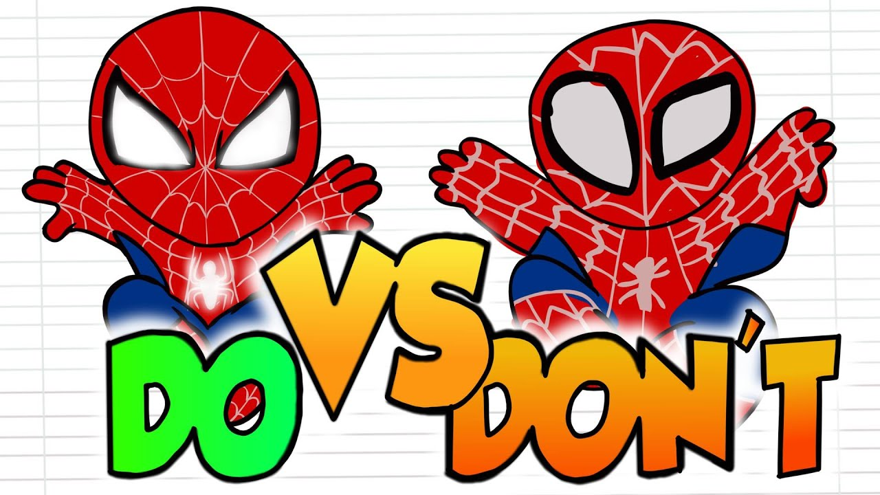 Baby Spiderman So Cute Drawing Do S Vs Don Ts Easy Little Drawings Youtube