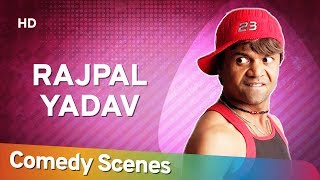 राजपाल यादव की बॉलीवुड फिल्म की हिट कॉमेडी - Rajpal Yadav - Comedy Scenes - Best Bollywood Comedian