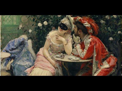 Raimundo de Madrazo y Garreta (1841-1920) Spanish artist ✽ Ernesto Cortazar music