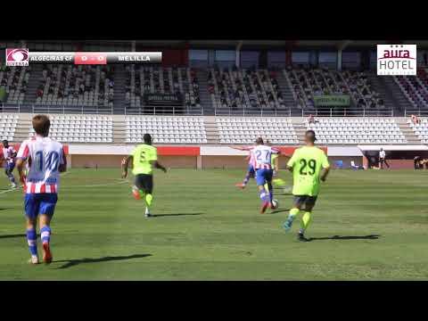 Empate a cero entre Algeciras y Melilla