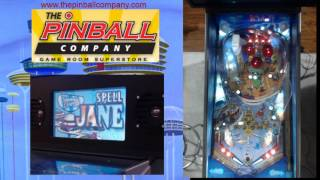 Jetsons Pinball Machine at The Pinball Company