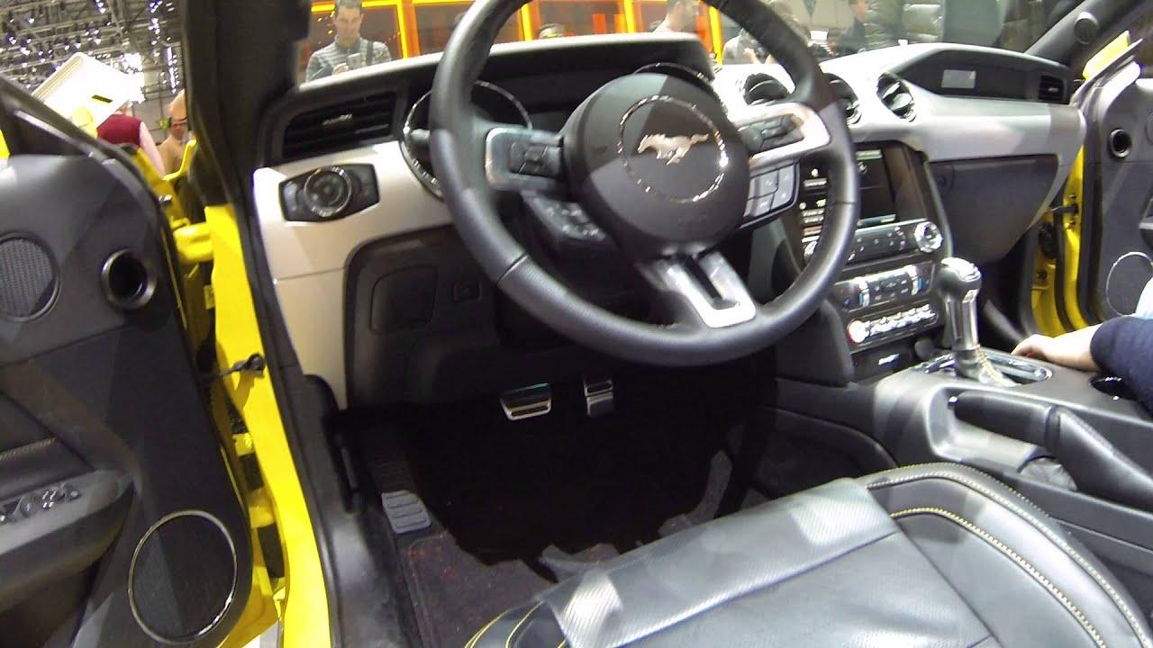 Ford Mustang Mk6 2015 onwards OBD2 Diagnostic Port Location