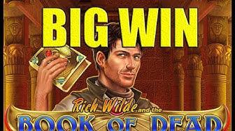 BIG WIN Book of Dead WINNING STREAK SESSION - Highrolling - Online slot  (Long video)