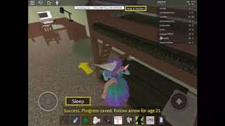 Roblox growing up)my FIRST MUSIC VIDEO queen of mean