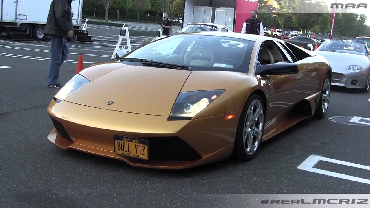 Lamborghini Murcielago One Off Color Youtube