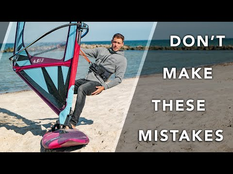 ❌ 3 MISTAKES Almost EVERY WINDSURFER Makes