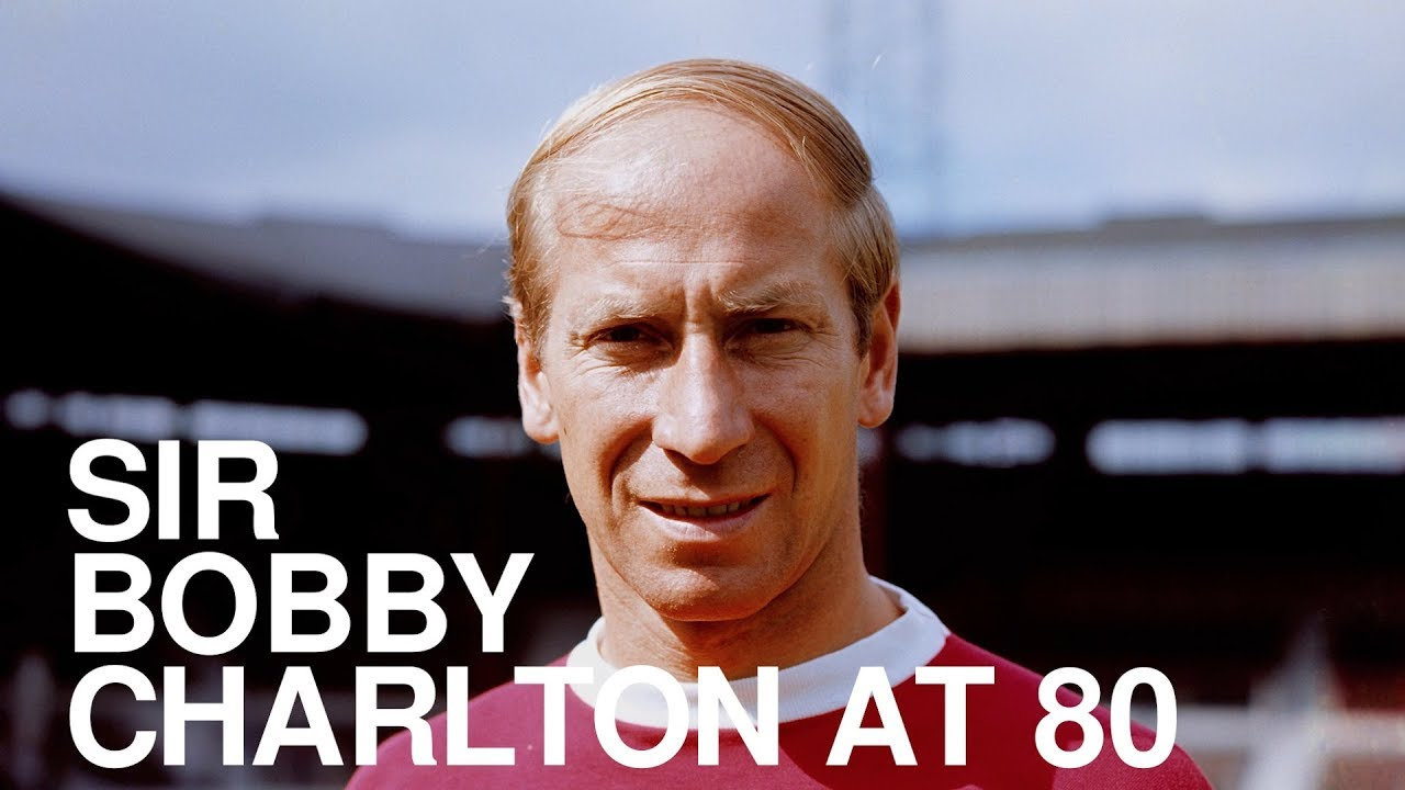 Sir Bobby Charlton At 80 - His Career In Numbers - YouTube  Sir Bobby Charl...