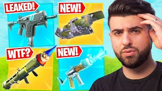 The NEW Items Coming to Fortnite Season 5...