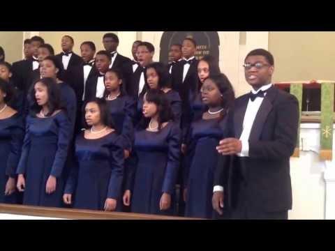 Cass Tech High School Concert Choir- Precious Lord by Roland Carter