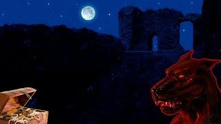 Легенда о собаке с огненными глазами и развалины крепости Коштялов
