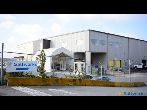 Saltworks' Headquarters & SaltMaker Evaporator Crystallizer Production